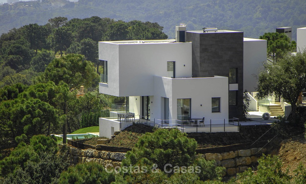 Magnificent new contemporary luxury villas with stunning sea views for sale, Benahavis, Marbella 13448