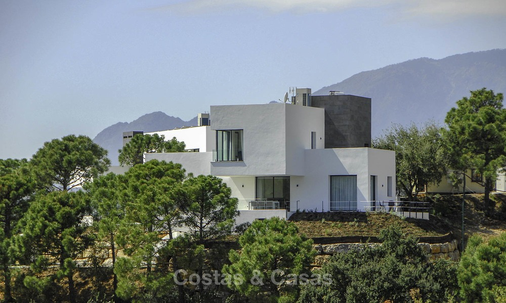 Magnificent new contemporary luxury villas with stunning sea views for sale, Benahavis, Marbella 13449