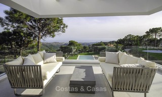 Magnificent new contemporary luxury villas with stunning sea views for sale, Benahavis, Marbella 13452