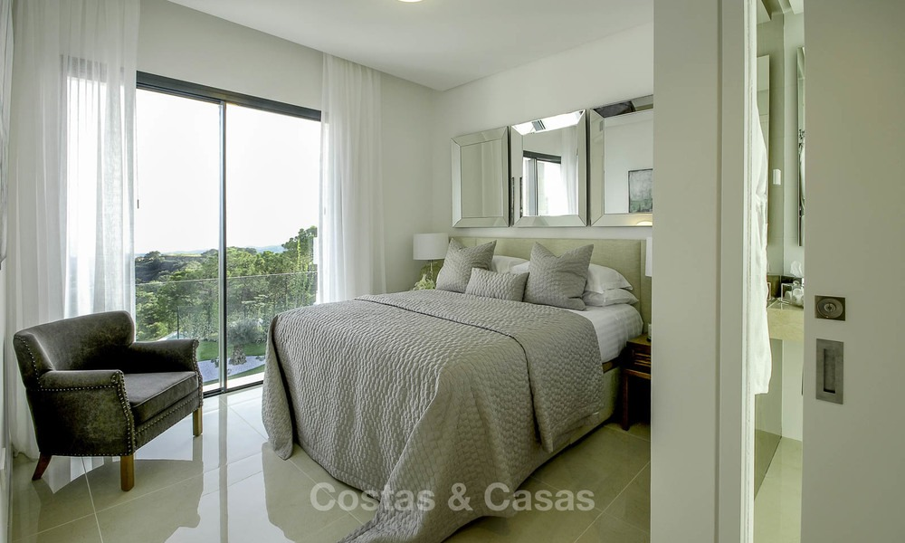 Magnificent new contemporary luxury villas with stunning sea views for sale, Benahavis, Marbella 13455