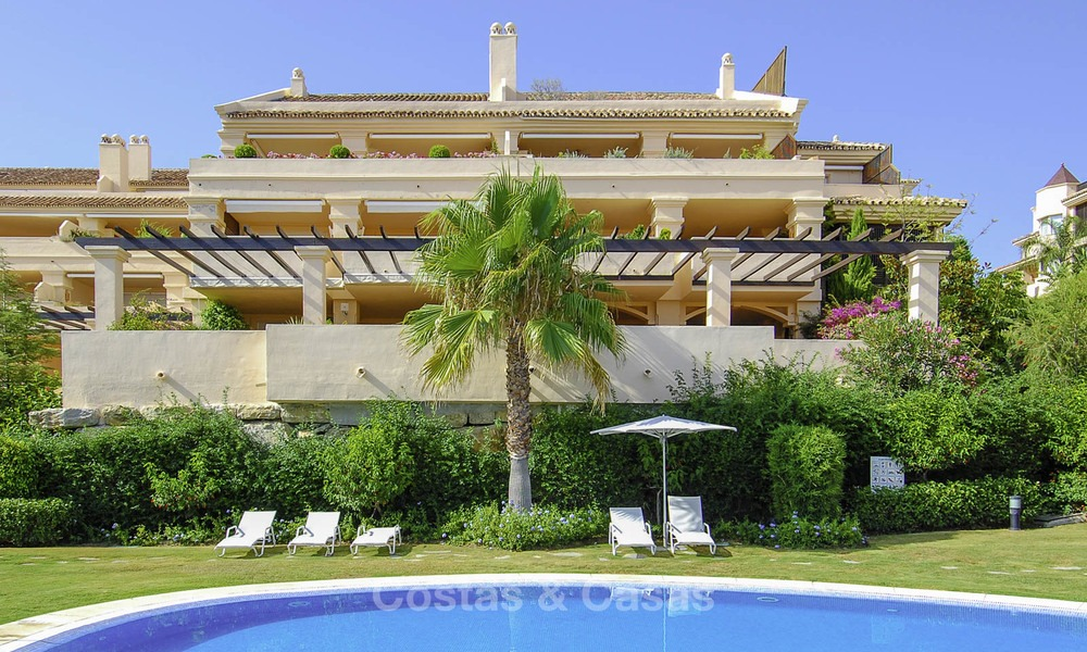 Albatross Hill: Apartments and penthouses with sea view for sale in Nueva Andalucia, Marbella 13387