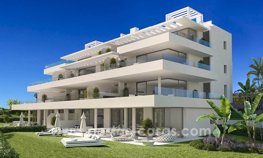 One-of-a-kind New Modern 4-bed Designer Apartment for Sale, Ready to Move into, in Luxury Resort in Marbella - Estepona 13470