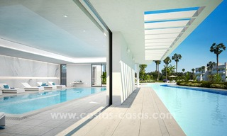 One-of-a-kind New Modern 4-bed Designer Apartment for Sale, Ready to Move into, in Luxury Resort in Marbella - Estepona 13462