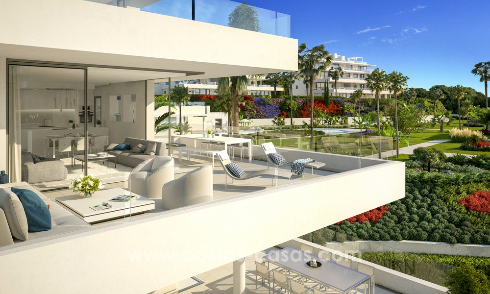 One-of-a-kind New Modern 4-bed Designer Apartment for Sale, Ready to Move into, in Luxury Resort in Marbella - Estepona 13461