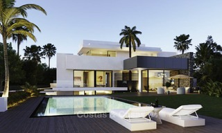 New modern detached luxury villas for sale on the New Golden Mile, between Marbella and Estepona 13508
