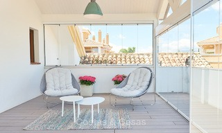 Luxury penthouse apartment for sale on the Golden Mile between Marbella centre and Puerto Banus 13572
