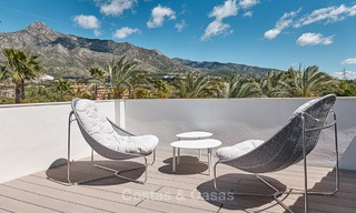 Luxury penthouse apartment for sale on the Golden Mile between Marbella centre and Puerto Banus 13573