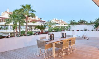 Luxury penthouse apartment for sale on the Golden Mile between Marbella centre and Puerto Banus 13575