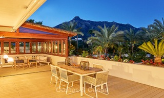 Luxury penthouse apartment for sale on the Golden Mile between Marbella centre and Puerto Banus 13579