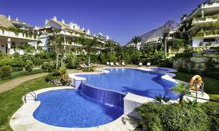 Luxury penthouse apartment for sale on the Golden Mile between Marbella centre and Puerto Banus 13625