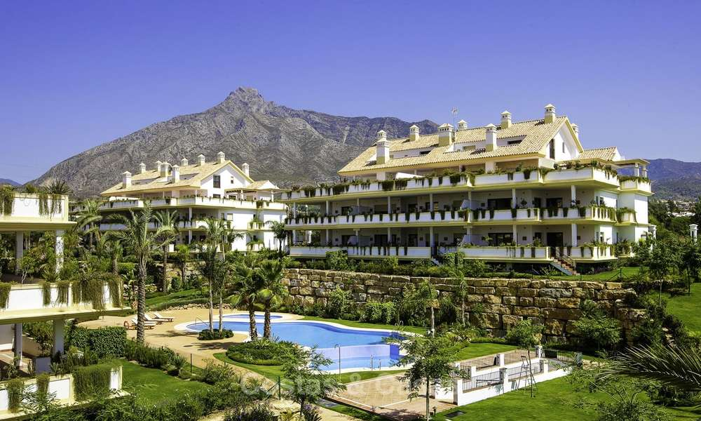 Luxury penthouse apartment for sale on the Golden Mile between Marbella centre and Puerto Banus 13624