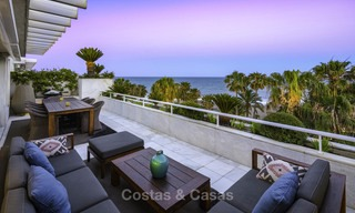 Very luxurious 4 bed penthouse apartment for sale in an exclusive beachfront complex, Puerto Banus, Marbella 13651