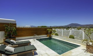 Very luxurious 4 bed penthouse apartment for sale in an exclusive beachfront complex, Puerto Banus, Marbella 13655