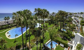 Very luxurious 4 bed penthouse apartment for sale in an exclusive beachfront complex, Puerto Banus, Marbella 13658