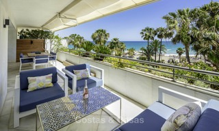 Very luxurious 4 bed penthouse apartment for sale in an exclusive beachfront complex, Puerto Banus, Marbella 13661