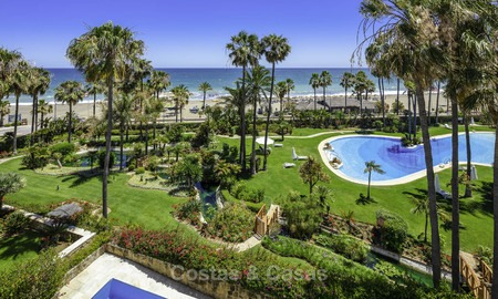Very luxurious 4 bed penthouse apartment for sale in an exclusive beachfront complex, Puerto Banus, Marbella 13662
