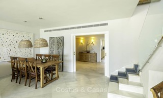 Very luxurious 4 bed penthouse apartment for sale in an exclusive beachfront complex, Puerto Banus, Marbella 13665