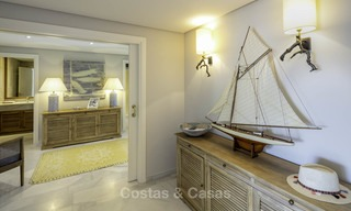 Very luxurious 4 bed penthouse apartment for sale in an exclusive beachfront complex, Puerto Banus, Marbella 13667