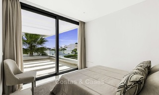 Brand new contemporary designer villa with stunning sea and golf views for sale, ready to move into, Benahavis - Marbella 13675