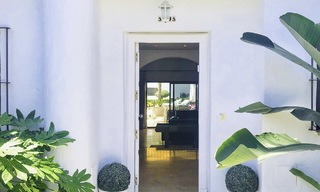 Opportunity: Marvellous frontline beach townhouse with beautiful sea views for sale on the prestigious Golden Mile, Marbella 13701