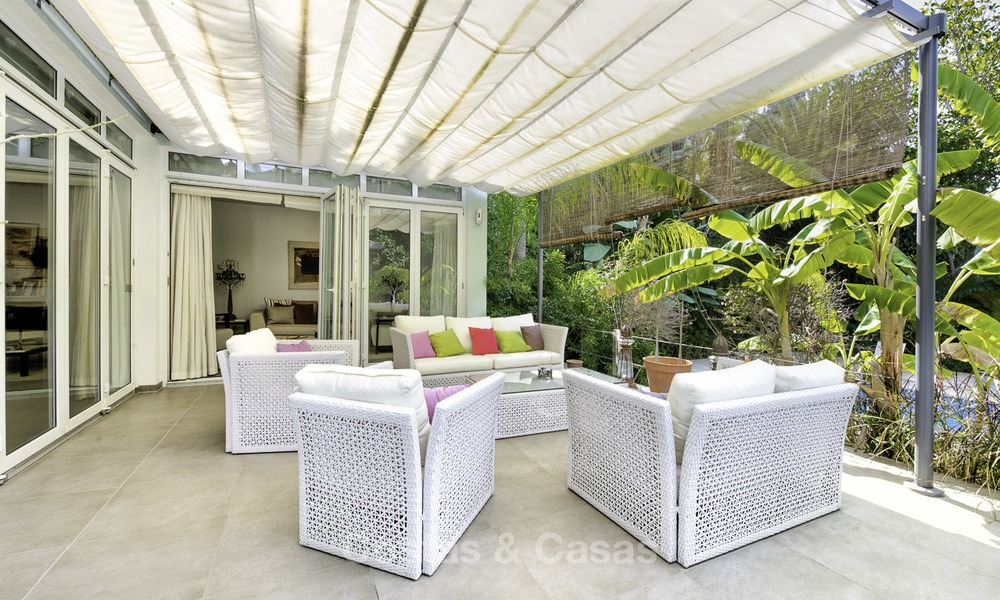 Charming fully renovated villa for sale in the heart of the Golf Valley, Nueva Andalucia, Marbella 13836