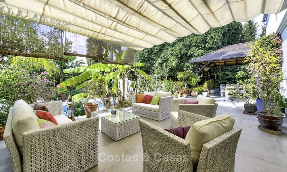 Charming fully renovated villa for sale in the heart of the Golf Valley, Nueva Andalucia, Marbella 13837