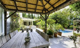 Charming fully renovated villa for sale in the heart of the Golf Valley, Nueva Andalucia, Marbella 13839