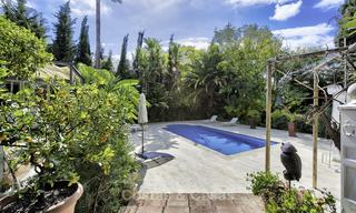 Charming fully renovated villa for sale in the heart of the Golf Valley, Nueva Andalucia, Marbella 13841