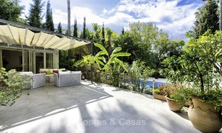 Charming fully renovated villa for sale in the heart of the Golf Valley, Nueva Andalucia, Marbella 13847