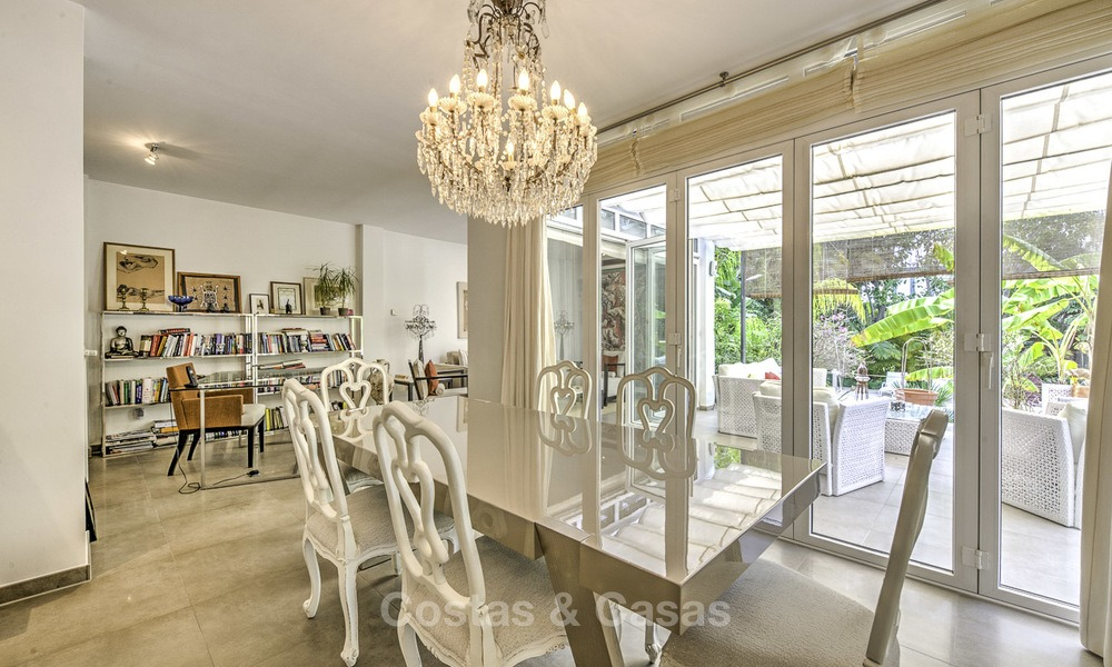 Charming fully renovated villa for sale in the heart of the Golf Valley, Nueva Andalucia, Marbella 13852