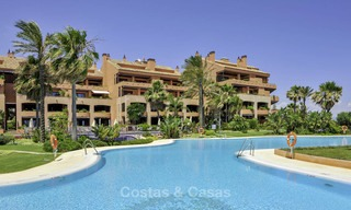 Exceptional luxury beachfront penthouse apartment for sale in a prestigious complex, Puerto Banus, Marbella 13931