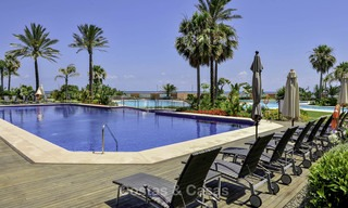Exceptional luxury beachfront penthouse apartment for sale in a prestigious complex, Puerto Banus, Marbella 13932