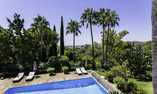 Charming renovated Mediterranean style villa with sea views on a large plot for sale in Benahavis - Marbella 14139