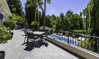Charming renovated Mediterranean style villa with sea views on a large plot for sale in Benahavis - Marbella 14141