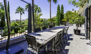 Charming renovated Mediterranean style villa with sea views on a large plot for sale in Benahavis - Marbella 14142
