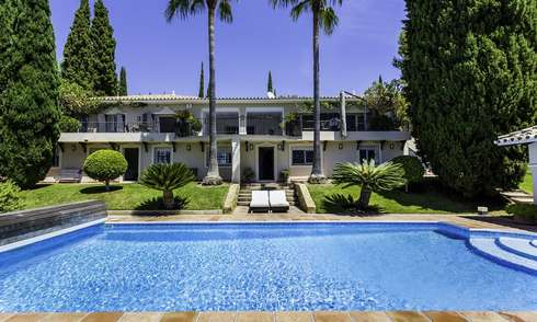 Charming renovated Mediterranean style villa with sea views for sale, Benahavis, Marbella 14150
