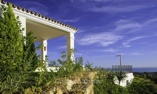 For sale: classical villa with panoramic sea views and guest house in a world class golf resort - Benahavis, Marbella 14164