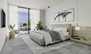 New modern luxury apartments and penthouses for sale with sea views in Cabopino, East Marbella 14304