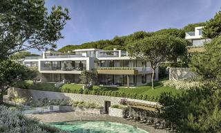 New modern luxury apartments and penthouses for sale with sea views in Cabopino, East Marbella 14305