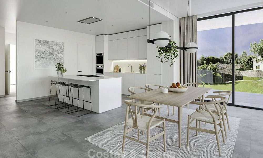 New modern luxury apartments and penthouses for sale with sea views in Cabopino, East Marbella 14307