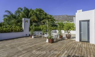 Awesome, super deluxe 5 bed penthouse apartment with panoramic sea views for sale in Sierra Blanca on the Golden Mile, Marbella 14286