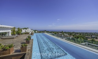 Awesome, super deluxe 5 bed penthouse apartment with panoramic sea views for sale in Sierra Blanca on the Golden Mile, Marbella 14290