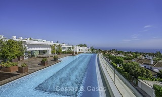 Awesome, super deluxe 5 bed penthouse apartment with panoramic sea views for sale in Sierra Blanca on the Golden Mile, Marbella 14291