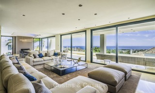 Awesome, super deluxe 5 bed penthouse apartment with panoramic sea views for sale in Sierra Blanca on the Golden Mile, Marbella 14295