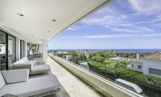Awesome, super deluxe 5 bed penthouse apartment with panoramic sea views for sale in Sierra Blanca on the Golden Mile, Marbella 14300