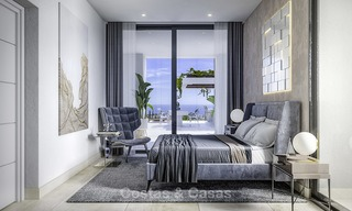 Brand new modern contemporary luxury villas for sale, frontline golf on the New Golden Mile, between Marbella and Estepona 14321