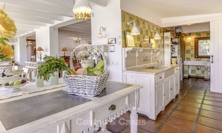 Charming, very spacious Mediterranean style villa for sale, walking distance to the beach, Marbella East 14470