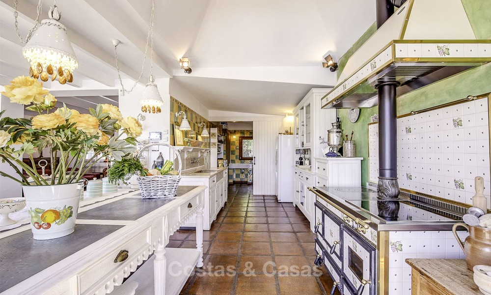 Charming, very spacious Mediterranean style villa for sale, walking distance to the beach, Marbella East 14479