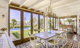 Charming, very spacious Mediterranean style villa for sale, walking distance to the beach, Marbella East 14480