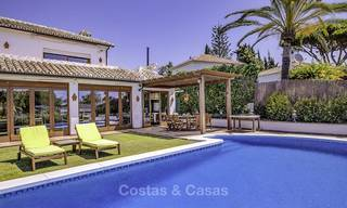 Charming, very spacious Mediterranean style villa for sale, walking distance to the beach, Marbella East 14481